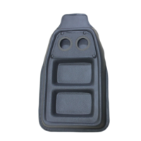 Crumbgrabba Utility Console Reduces mess and soiling to your vehicle interior Small Grey