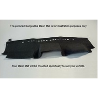 Sungrabba Dash Mat To Suit RAM 1500 2500 3500 Air Bag Four Door Utility 2011-2014