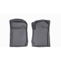 Sandgrabba Mats To Suit Nissan Navara D22 King Cab Two Door Utility 1996-2016 Grey Floor Manual Front Only